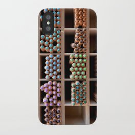 Coloured pencils iPhone Case