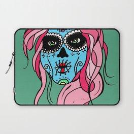 Pastel Sugar Skull Laptop Sleeve