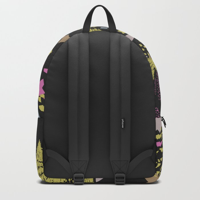 Trippy hills colorful Backpack