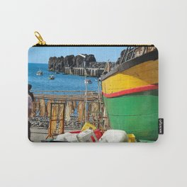 Watching the ships come in... Carry-All Pouch