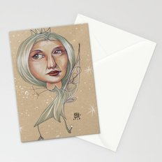 SNOWFLAKE QUEEN Stationery Cards