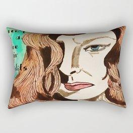 Katharine the Misfit  Rectangular Pillow