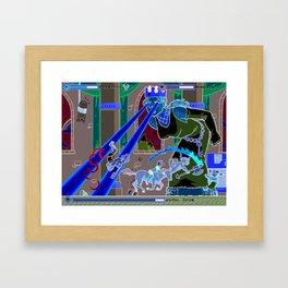 Princess Planet Boss Battle 11 - Royal Pain Framed Art Print