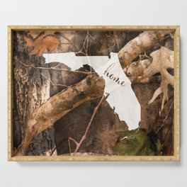 Florida is Home - Camo Serving Tray