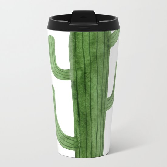 Solo Cactus Green Metal Travel Mug