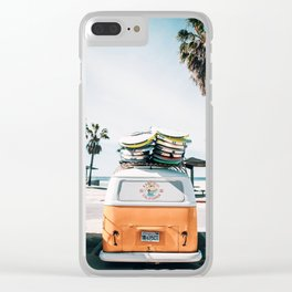 Surf Van Clear iPhone Case