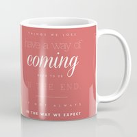 luna lovegood Mugs featuring luna lovegood quote by Marta Lemon