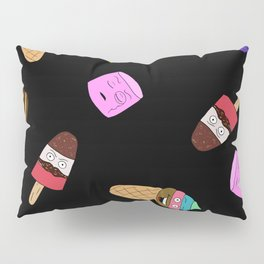 Food with faces Pillow Sham