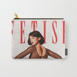 Fetish Retro Illustration, Tight G String and Attitude Carry-All Pouch