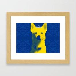 Fox Princess. Framed Art Print