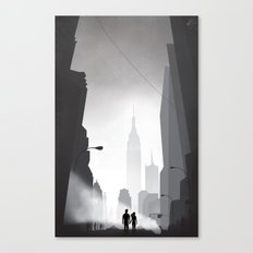 Love in New York Canvas Print