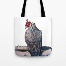 Gyrfalcon - falcon painting Tote Bag
