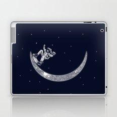 Skate in space Laptop & iPad Skin