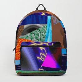 Rasgos de cor Backpack