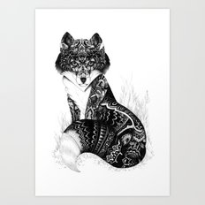 Wildlife Fox Art Print