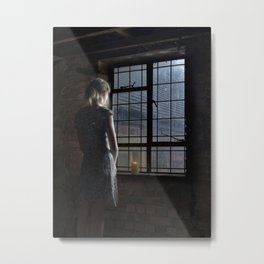 Trapped - colour Metal Print