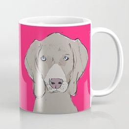 Cover Boy Weim Coffee Mug