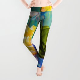 Water lily Leggings