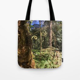 The Ferns of the Cloud Forest Tote Bag