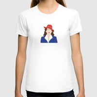 agent carter T-shirts featuring Agent Carter Vector by Missiieey