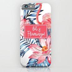 LET'S FLAMINGO iPhone 6s Slim Case