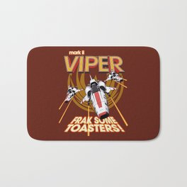 Viper Mk.II - Let's Frak Some Toasters! Bath Mat