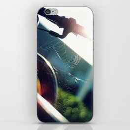 Spiderweb Bike iPhone Skin