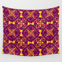 asia Wall Tapestries featuring Asia 2 by Emma Stein