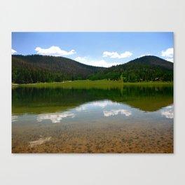 Duck Creek Reflection Canvas Print