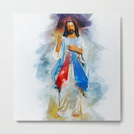 God Is With You Metal Print