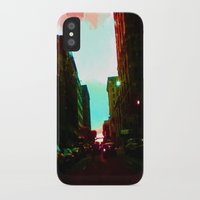 detroit iPhone & iPod Cases featuring Detroit by Casalmon