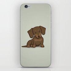 Daschund Puppy Illustration iPhone & iPod Skin