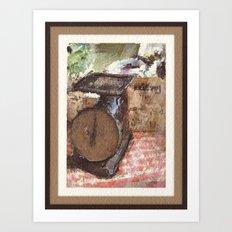Farmer's Scale Art Print