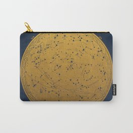 Antique Map of the Night Sky Carry-All Pouch