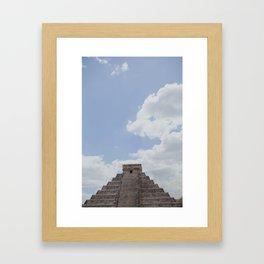 Chichin Itza Framed Art Print