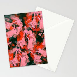 Full Punk Roses | Real Roses, Pink Roses, Red Roses, Colorful, Bright, Pressed Flowers, Vintage, Pun Stationery Cards