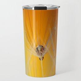 Dandelion Macro Travel Mug