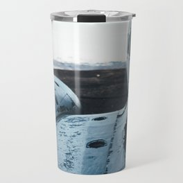 Airplane Wreckage Travel Mug