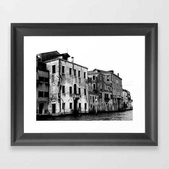 SWAMP VENICE II Framed Art Print
