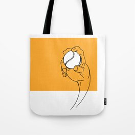 Straight Curve Tote Bag