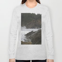 Shore Acres near Coos Bay, Oregon Long Sleeve T-shirt