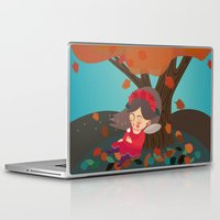 calendar Laptop & iPad Skins featuring 2016 Calendar, autumn dream by Irene Renon