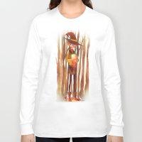 fireflies Long Sleeve T-shirts featuring Fireflies by Mugges