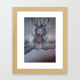 Dead land Framed Art Print