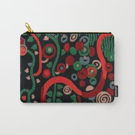 "Gustav Klimt ""Textile design - Model 7"" Carry-All Pouch"