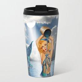 The bathtub of the mermaid Travel Mug