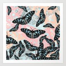 Butterflies #2 Art Print