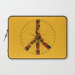 Peace & Bike (Colors) Laptop Sleeve