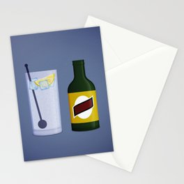 Gin & Tonic Stationery Cards