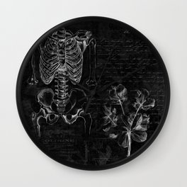 Anatomy Collage  Wall Clock